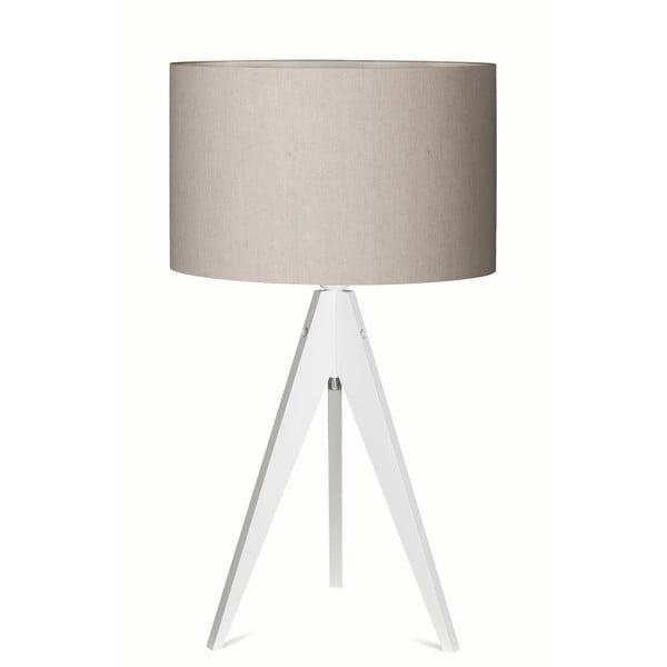 Lampa stołowa Artist Grey/White, 65x33 cm