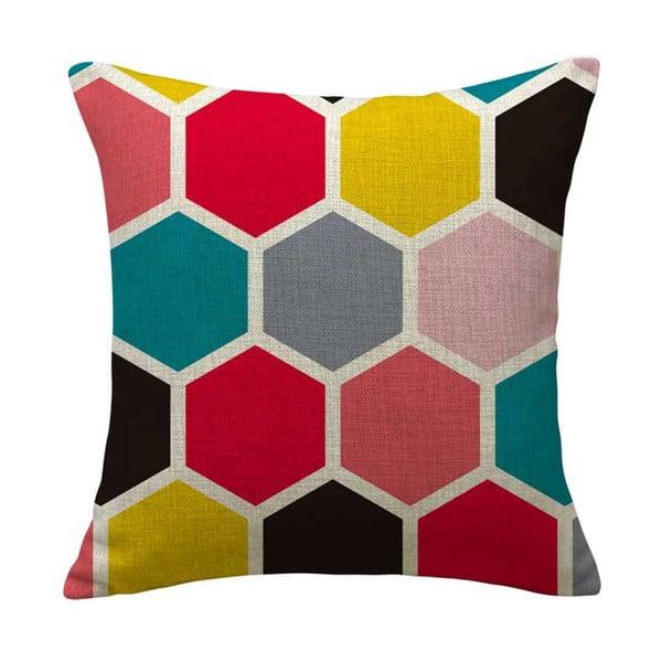 Poszewka na poduszkę Emotive Romboo, 45x45 cm