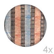 Zestaw 4 talerzy Samburu, 27,5 cm