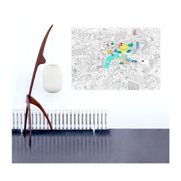 Kolorowanka London (70 x 100 cm)