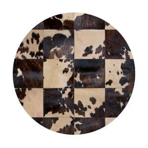 Skórzany dywan Pipsa Blidecco, ⌀ 150 cm