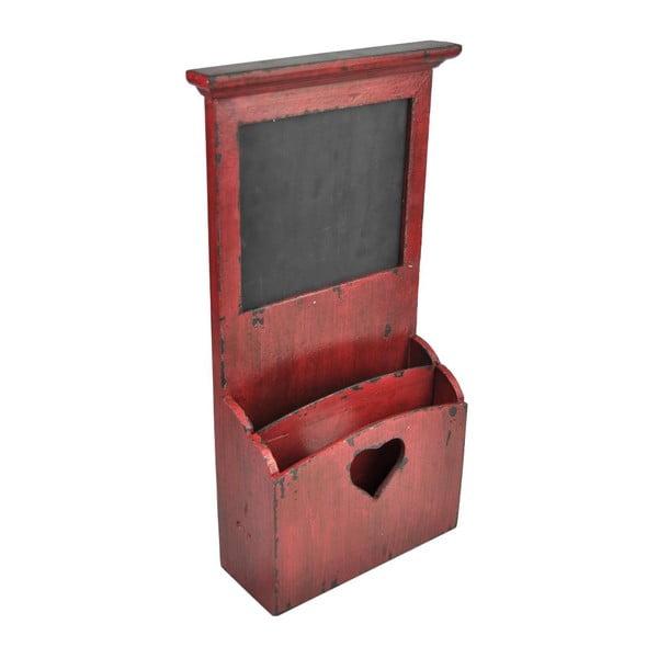 Półka z tablicą do pisania Antic Line Red Shelf