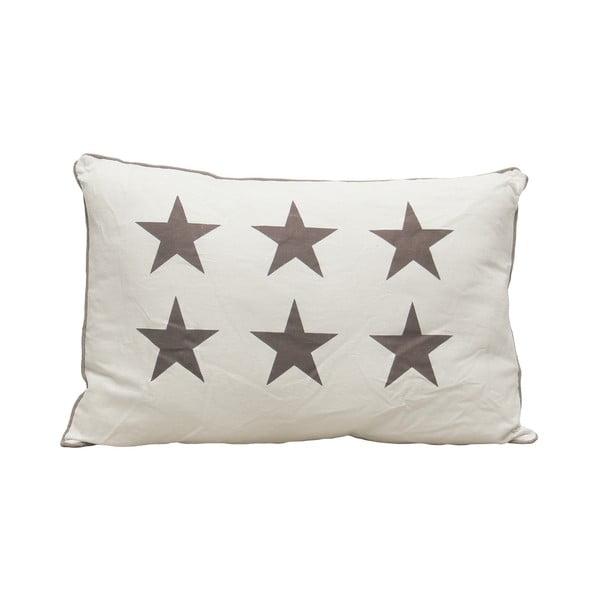 Poduszka Grey Stars, 60x40 cm
