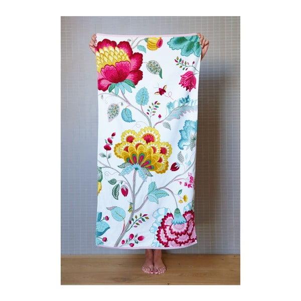 Ręcznik Floral Fantasy Star White, 55x100 cm