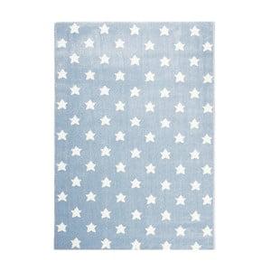 Niebieski dywan dziecięcy Happy Rugs Stardust, 80x150 cm