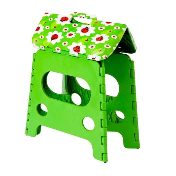Składany stołek Vigar Green Side