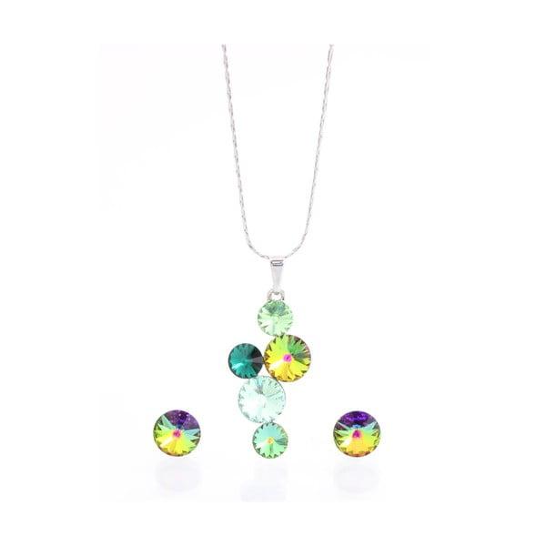 Komplet   naszyjnika i kolczyków z kryształami Swarovskiego® Laura Bruni Songa