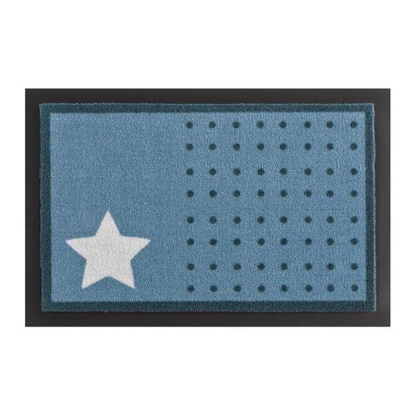 Wycieraczka Hanse Home Star and Dots Light Blue, 40x60 cm