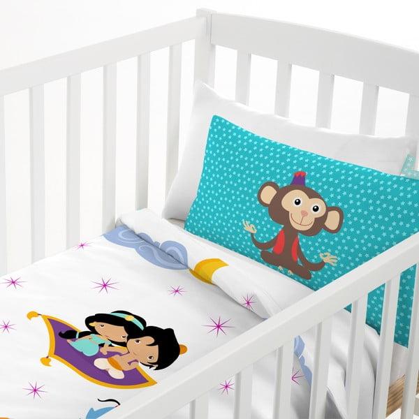 Bawełniana pościel dziecięca z poszewką na poduszkę Mr. Fox Aladdin, 100x120 cm
