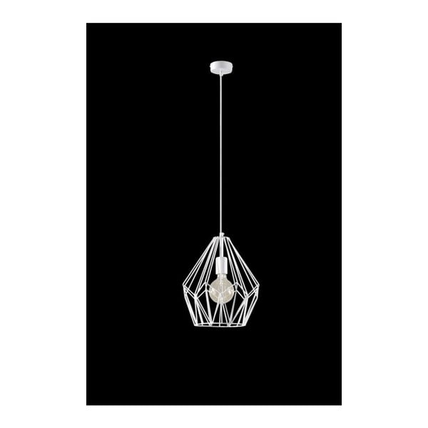Biała lampa wisząca Nice Lamps Bogart