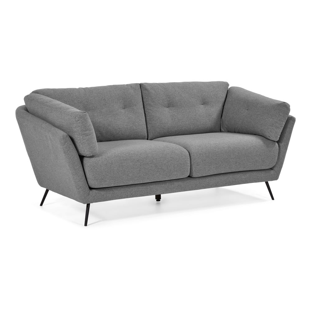 Szara sofa La Forma Sahira