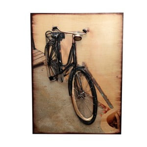 Metalowa tabliczka Bicycle Headlight
