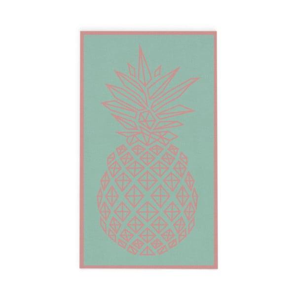 Ręcznik Hawke&Thorn Pineapple, 90x160 cm