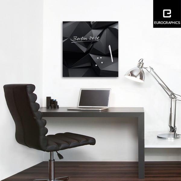 Tablica magnetyczna Eurographic Graphite Crystal, 50x50 cm