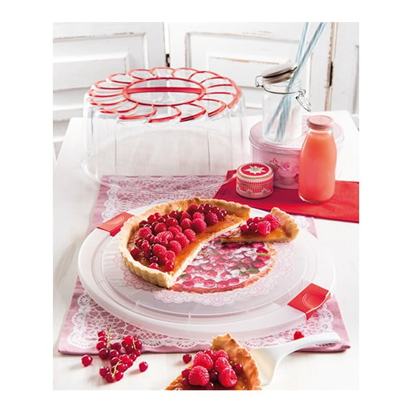 Pojemnik na tort Cake Red, 28 cm