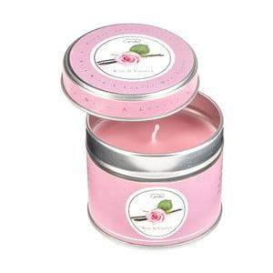 Świeczka zapachowa w puszce Rose & Vanilla, czas palenia 32 godzin