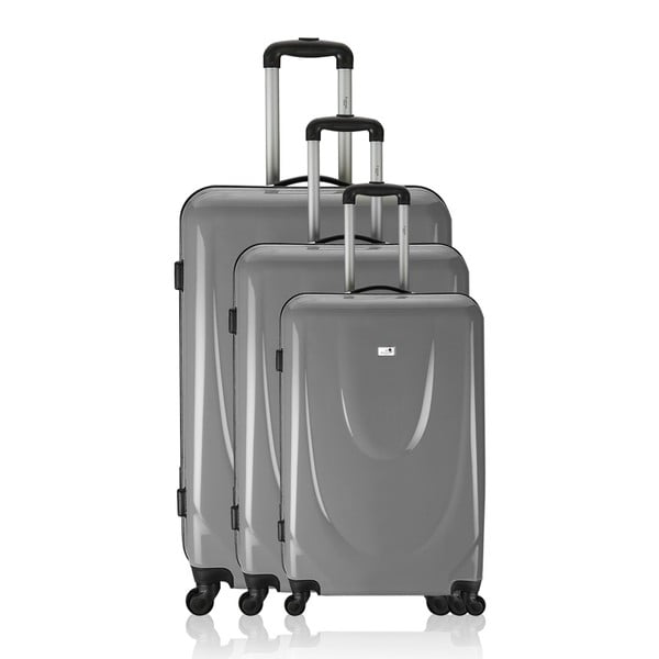 Komplet 3 walizek Valises Grey