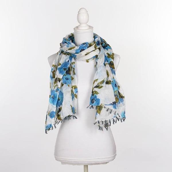 Chusta/pareo BLE Inart 100x180 cm, niebieska