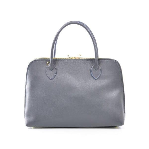 Skórzana torebka Dominique, szara