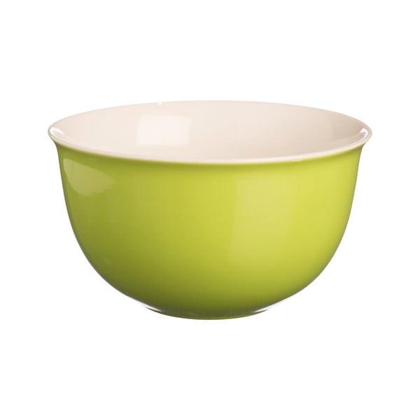 Miska   kamionkowa Green Dinner, 14 cm