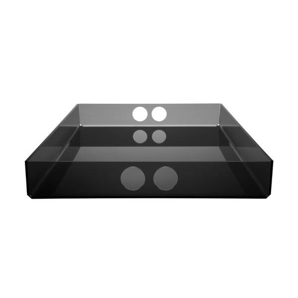 Taca Tray Black, 30x41 cm