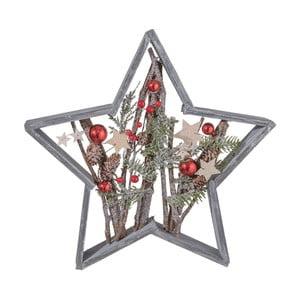 Gwiazda dekoracyjna Clayre & Eef Holy Christmas Star, 39x39 cm