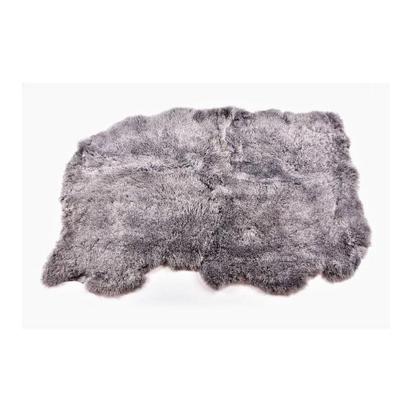 Dywan futrzany  krótkim włosiemGrey, 165x110 cm