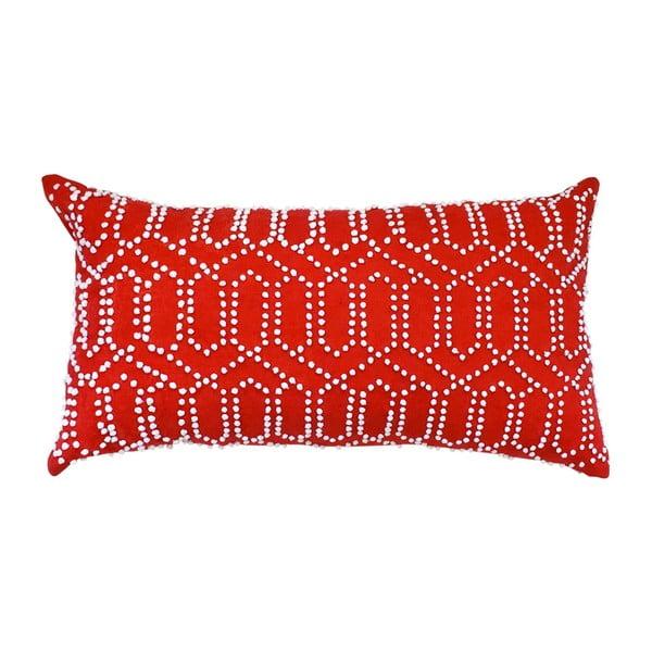 Poszewka na poduszkę Gantha Red, 30x53 cm