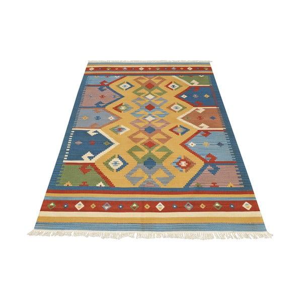 Ręcznie tkany dywan Kilim Classic K05 Mix, 95x155 cm