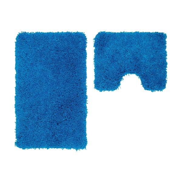 Zestaw 2 dywaników łazienkowych z wcięciem Citylights Blue
