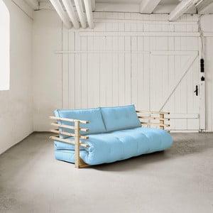 Sofa rozkładana dwuosobowa Karup Funk Natural/Celeste