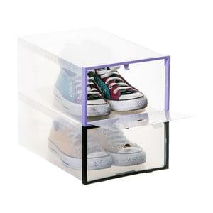 Komplet 2 pudełek na buty Modular Boxes