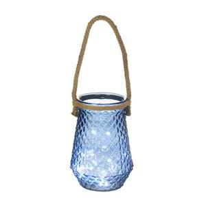 Niebieski szklany pojemnik Heaven Sends