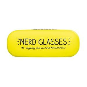 Żółte etui na okulary Happy Jackson Nerd Glasses