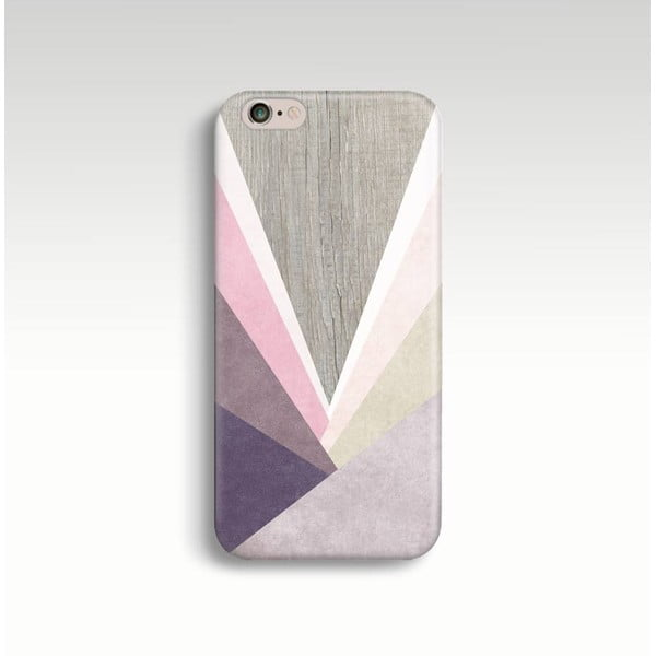 Etui na telefon Wood Triangles II na iPhone 5/5S