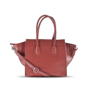 Skórzana torebka Rose, czerwona