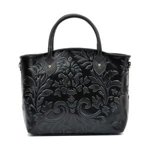 Czarna torebka skórzana Renata Corsi Rosa