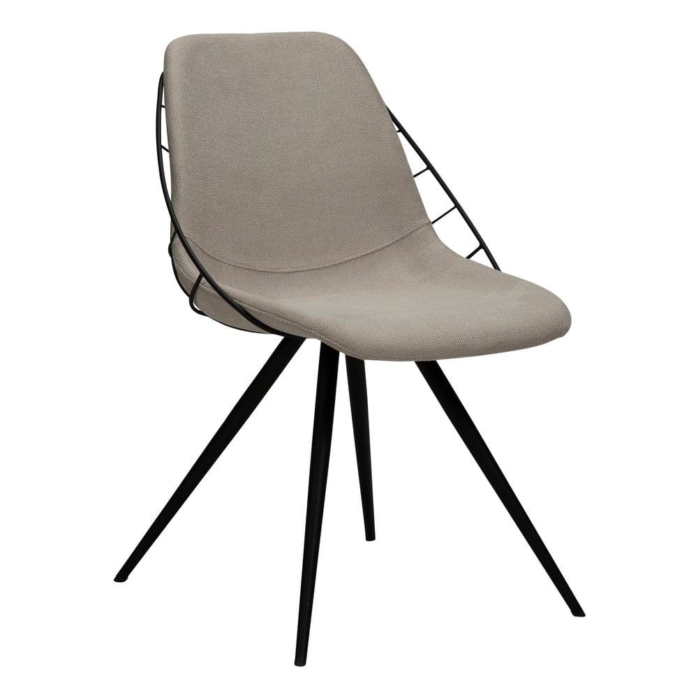Beżowe krzesło DAN-FORM Denmark Sway