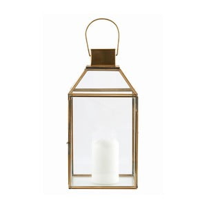 Lampion Base Brass, 36x18 cm