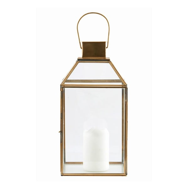 Lampion Base Brass, 36x18 cm
