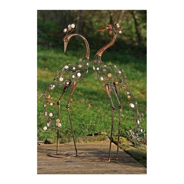 Zestaw 2 dekoracyjnych figurek Boltze Egret