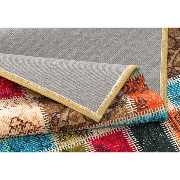 Wytrzymały dywan kuchenny Webtapetti Patchwork, 60x115 cm