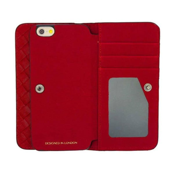 Etui na iPhone6 Wallet Weave Red