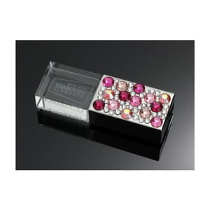 Pendrive Swarovski Elements Rosa, 8 GB