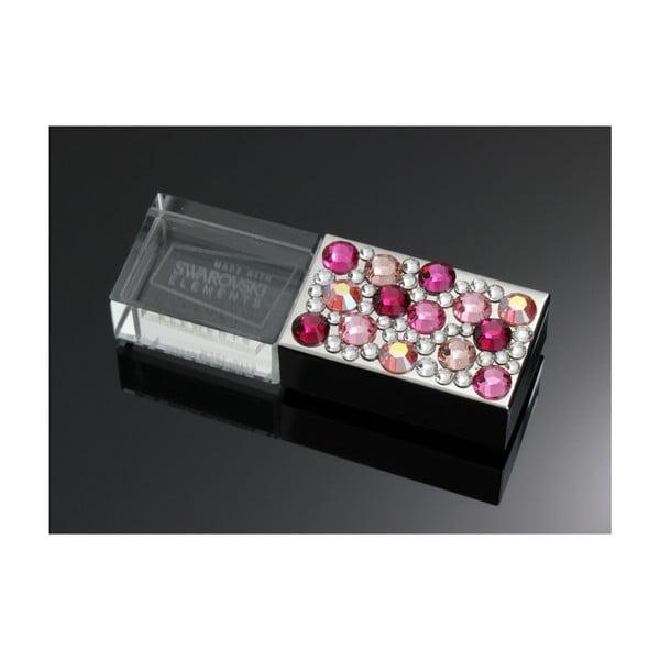 Pendrive Swarovski Elements Rosa, 8 GB