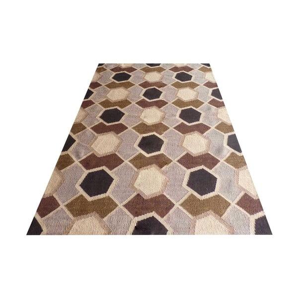 Ręcznie tkany dywan Kilim Modern 149, 140x200 cm