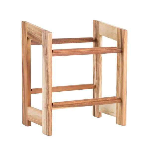 Regał na skrzynki z drewna akacjowego na   bedýnky T&G Woodware Rustic