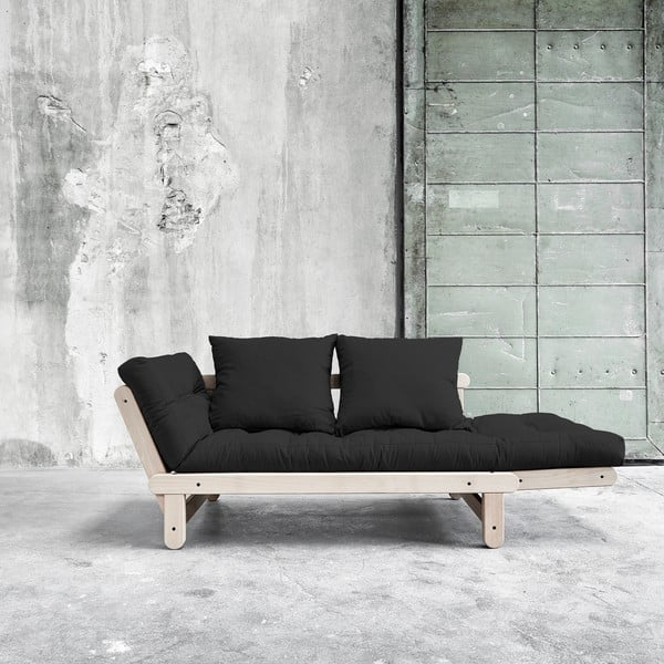 Sofa rozkładana Beat Beech/Grey