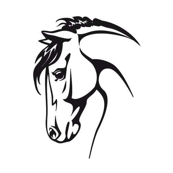Naklejka Ambiance Horse