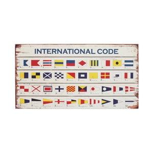 Tabliczka drewniana Artesania Esteban Ferrer International Code